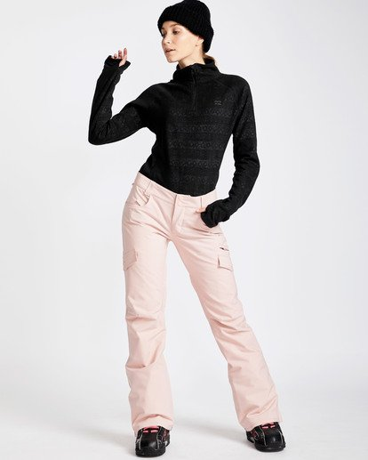 4 Women's Nela Slim Fit Outerwear Pants Pink JSNPQNEL Billabong