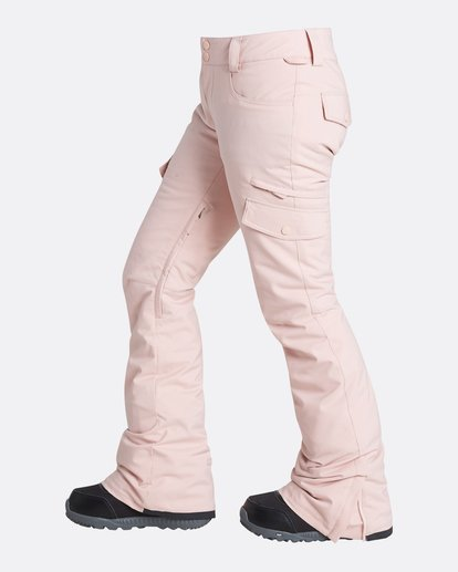 1 Women's Nela Slim Fit Outerwear Pants Pink JSNPQNEL Billabong