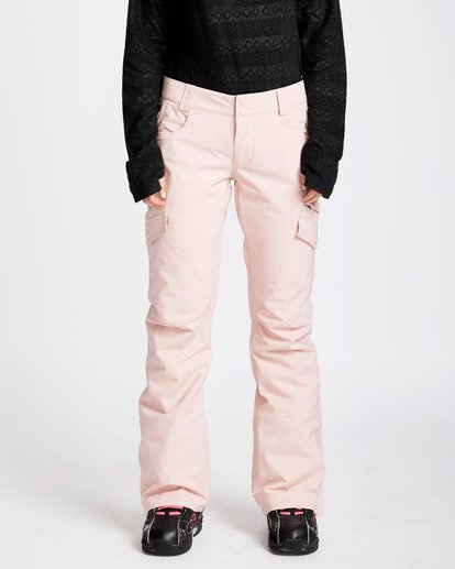 0 Women's Nela Slim Fit Outerwear Pants Pink JSNPQNEL Billabong