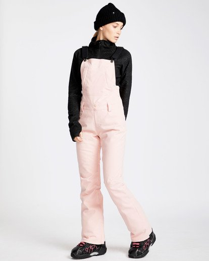 11 Women's Riva Outerwear Bib Pants Pink JSNPQRIV Billabong