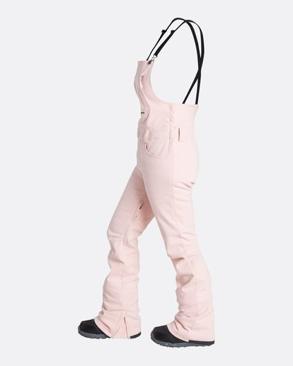 8 Women's Riva Outerwear Bib Pants Pink JSNPQRIV Billabong