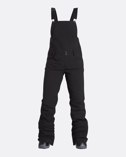 0 Women's Riva Outerwear Bib Pants Black JSNPQRIV Billabong