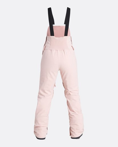 6 Women's Riva Outerwear Bib Pants Pink JSNPQRIV Billabong