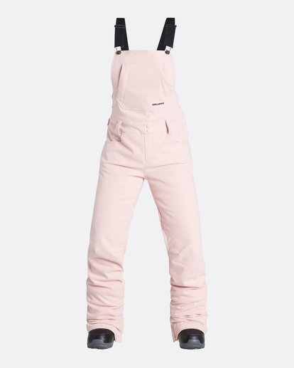 4 Women's Riva Outerwear Bib Pants Pink JSNPQRIV Billabong