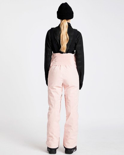 3 Women's Riva Outerwear Bib Pants Pink JSNPQRIV Billabong