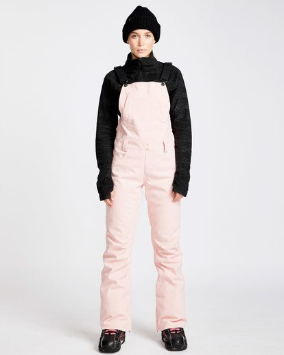 0 Women's Riva Outerwear Bib Pants Pink JSNPQRIV Billabong