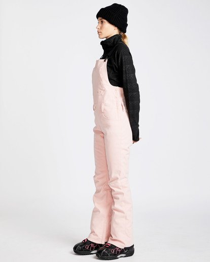 1 Women's Riva Outerwear Bib Pants Pink JSNPQRIV Billabong
