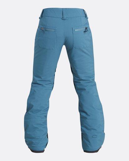 2 Women's Terry Slim Fit Outerwear Pants Brown JSNPQTER Billabong