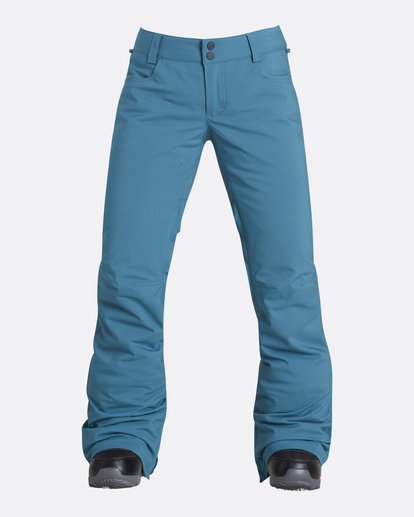 0 Women's Terry Slim Fit Outerwear Pants Brown JSNPQTER Billabong
