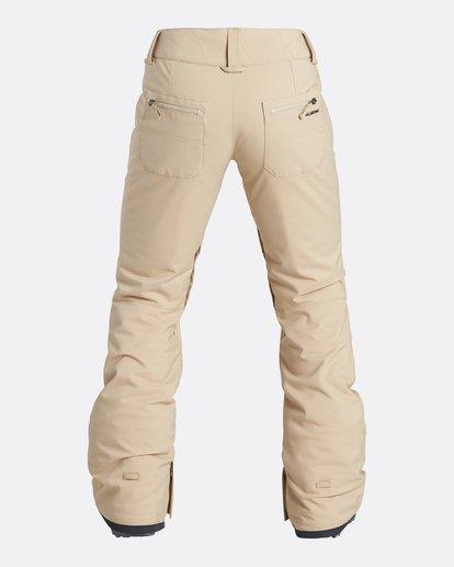 2 Women's Terry Slim Fit Outerwear Pants Beige JSNPQTER Billabong