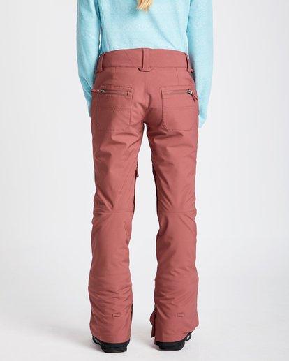 3 Women's Terry Slim Fit Outerwear Pants  JSNPQTER Billabong