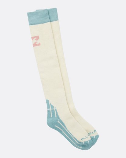 3 Women's Alpine Merino Wool Snow Socks  JSSOQALP Billabong