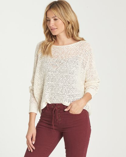 1 Dance With Me Sweater Beige JV01JDAN Billabong
