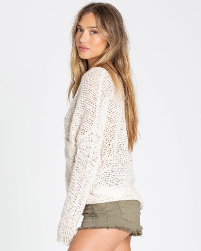 1 After Glow Wrap Sweater White JV01TBAF Billabong