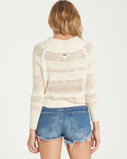 2 Snuggle Down Sweater White JV02NBSN Billabong