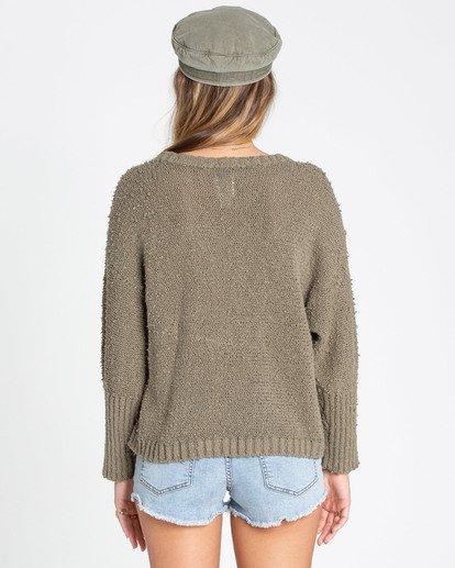 2 Easy Going Sweater Green JV05TBEA Billabong