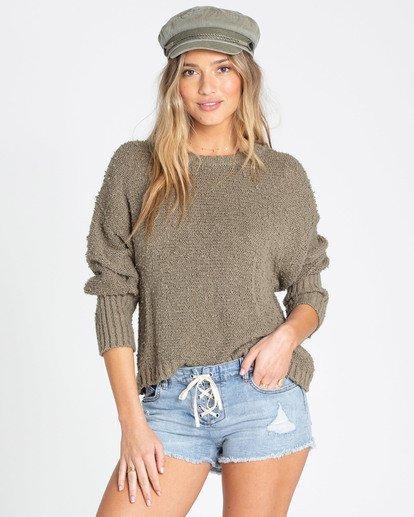 0 Easy Going Sweater Green JV05TBEA Billabong