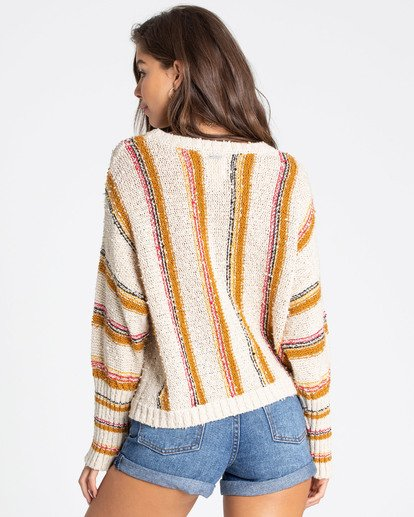 3 Easy Going Sweater White JV05TBEA Billabong