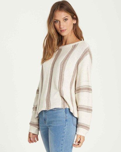 1 Calm Seas Sweater Brown JV07QBCA Billabong