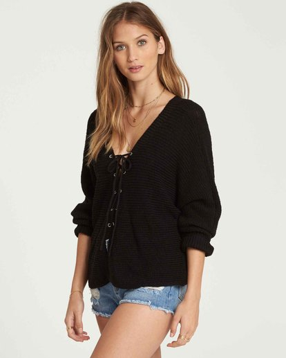 1 Back It Up Sweater Black JV09QBBA Billabong