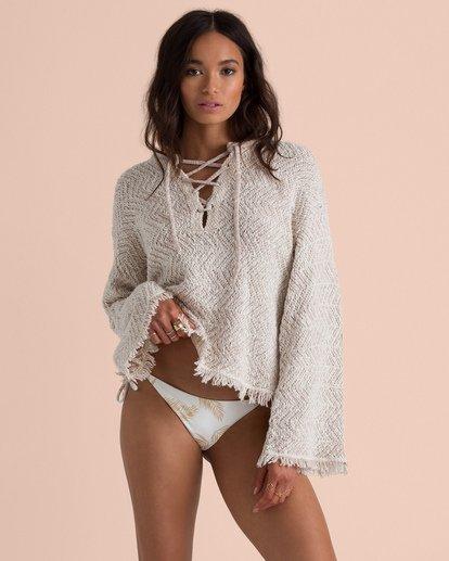 2 Sincerely Jules Palms For Daze Sweater White JV14TBPA Billabong