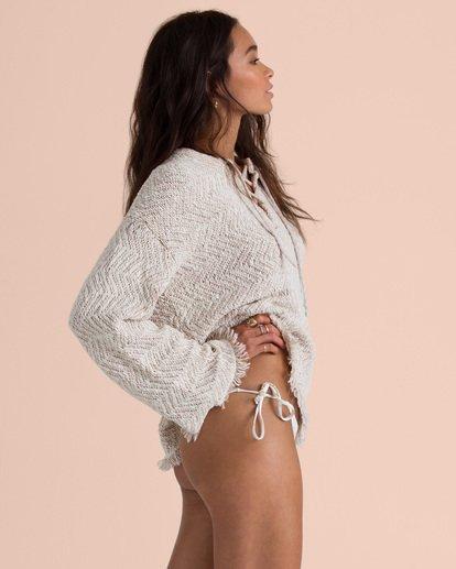 3 Sincerely Jules Palms For Daze Sweater White JV14TBPA Billabong