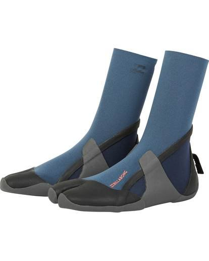 0 3mm Furnace Synergy Wetsuit Boot Grey JWBOQBS3 Billabong