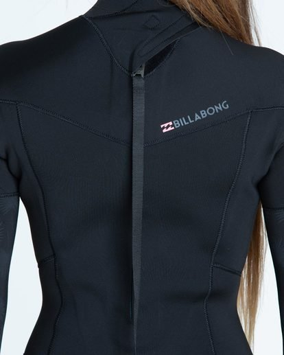 3 4/3 Furnace Synergy Back Zip Fullsuit Black JWFUQBB4 Billabong