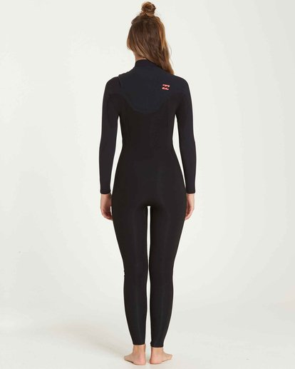 2 3/2 Furnace Carbon Chest Zip Fullsuit Black JWFUQBC3 Billabong