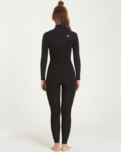 2 4/3 Furnace Carbon Chest Zip Fullsuit Black JWFUQBC4 Billabong