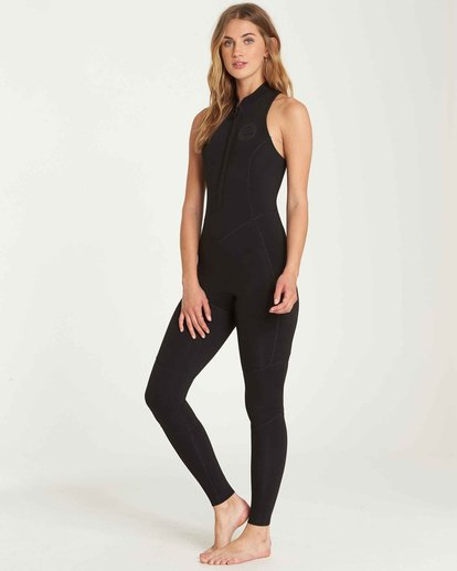 1 2mm Salty Jane Sleeveless Fullsuit Black JWFUQBSJ Billabong