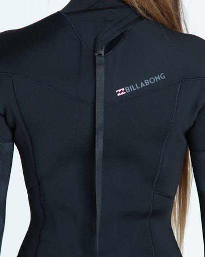 3 3/2 Synergy Back Zip Fullsuit Black JWFUTBL3 Billabong