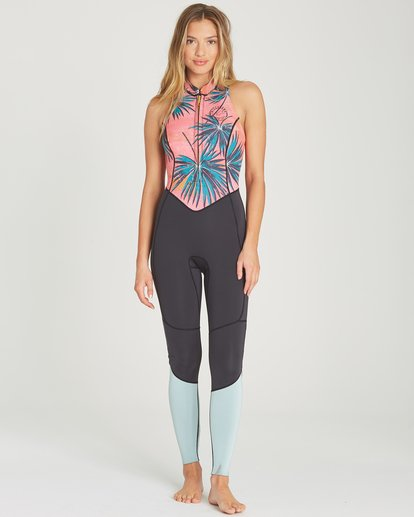 0 2mm Salty Jane Sleeveless Fullsuit Pink JWFUTBSJ Billabong