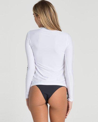 2 Core Loose Fit Long Sleeve Rashguard White JWLYLCLL Billabong