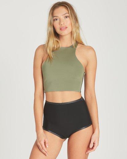 3 Hightide Short Neoprene Bikini Bottom  JWSHTBSC Billabong