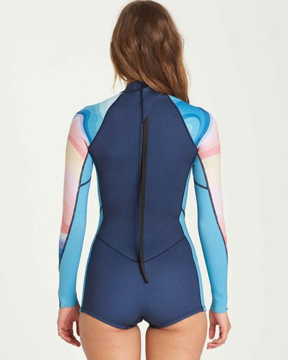 2 2mm Spring Fever Back Zip Springsuit  JWSPQBSF Billabong