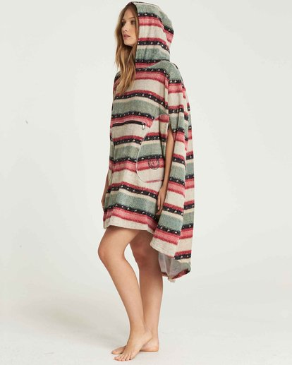 2 Hooded Towel Changing Poncho Beige JWTWQBHT Billabong
