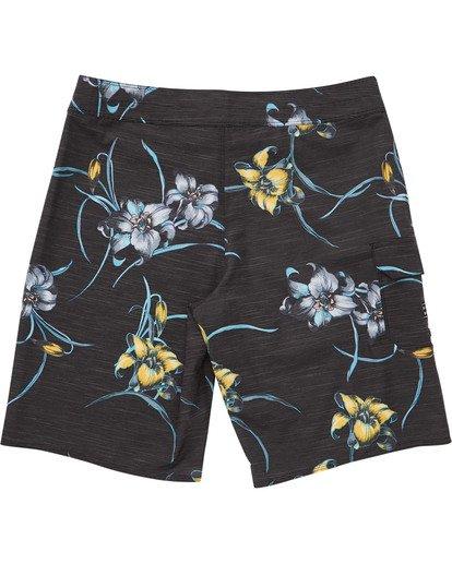 1 Boys' (2-7) All Day Floral Pro Boardshorts Black K132TBAF Billabong