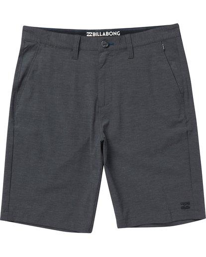 0 Boys' (2-7) Crossfire X Shorts Black K202NBCX Billabong