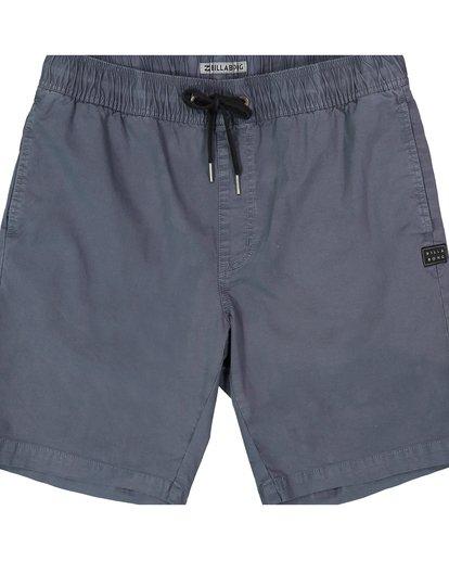 1 Boys' (2-7) Larry Stretch Elastic Shorts Grey K244QBLS Billabong
