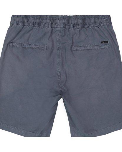 2 Boys' (2-7) Larry Stretch Elastic Shorts Grey K244QBLS Billabong