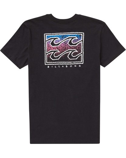 1 Boys' (2-7) Crusty Tee Black K401PBCR Billabong