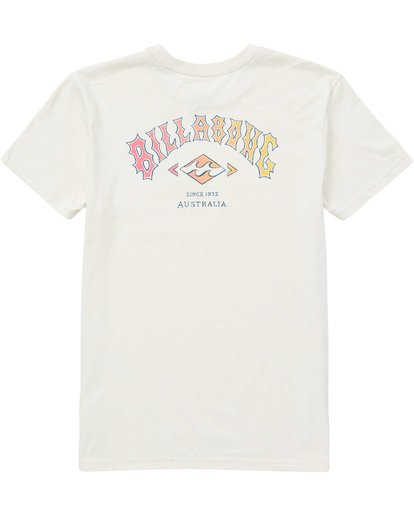 1 Boys' (2-7) Arch Tee Brown K401QBAR Billabong