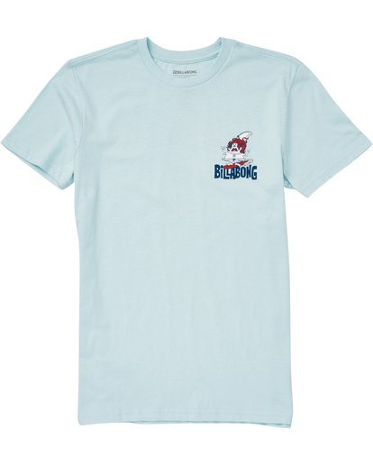 0 Boys (2-7) Grommit Tee Blue K401QBGR Billabong