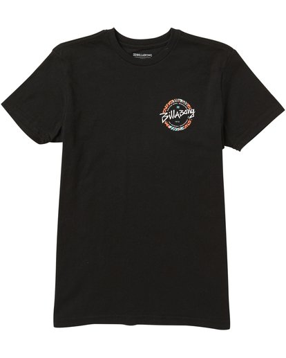 0 Kids' Eighty Six Tee Shirt Black K401SBEI Billabong