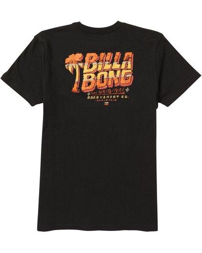 1 Kids' Selector Tee Shirt Black K401SBSE Billabong