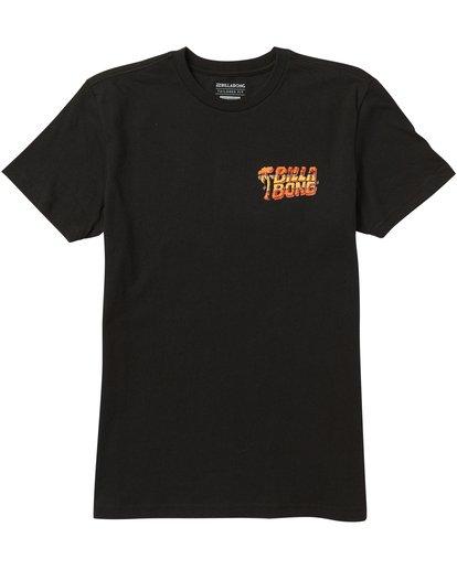 0 Kids' Selector Tee Shirt Black K401SBSE Billabong