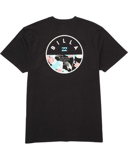 1 Boys' (2-7) Rotor Tee Black K404TBRO Billabong