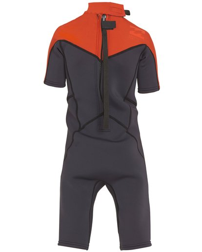 1 Boys' (2-7) 2/2 Absolute Back Zip Springsuit Orange KWSPNBBS Billabong