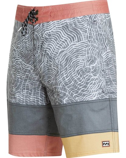 2 Pump Lo Tides Boardshorts Black M119MPUM Billabong